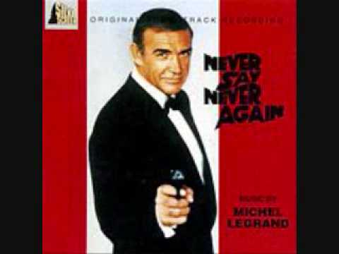 Never Say Never Again is listed (or ranked) 27 on the list The Best James Bond Movie Theme Songs