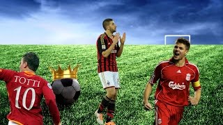 König Fussball #25 ★ Lässt der Fussball Platz für Gefühle? #Taarabt #Gerrard #Totti
