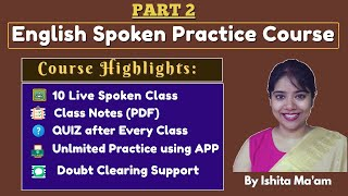 Live Spoken course Part 2 by Ishita mam using Namaste English App screenshot 4