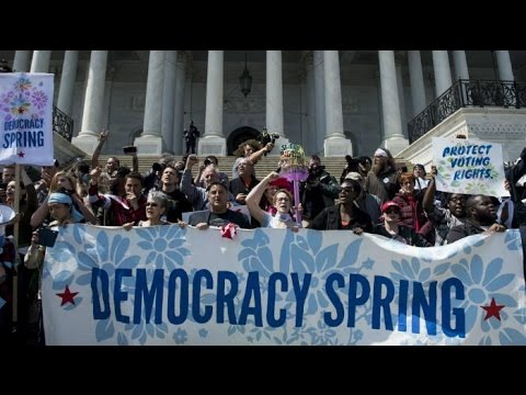 Moment of Madness: Democracy Spring Fights The Corruption