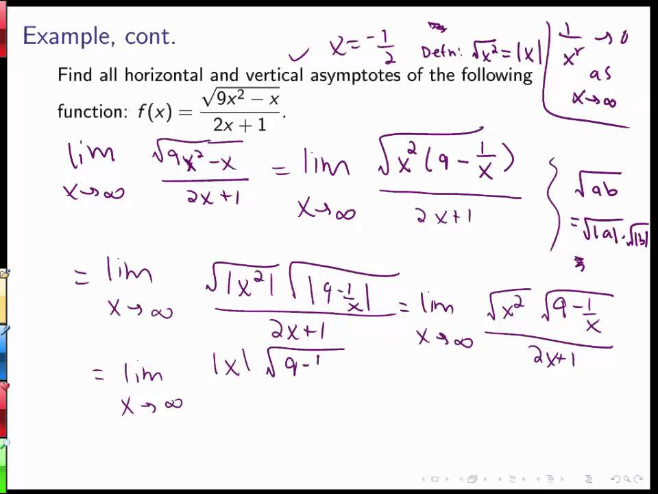Section 26 limits at infinity and horizontal asymptotes part 2 section 26 limits at infinity and horizontal asymptotes part 2 ccuart Choice Image