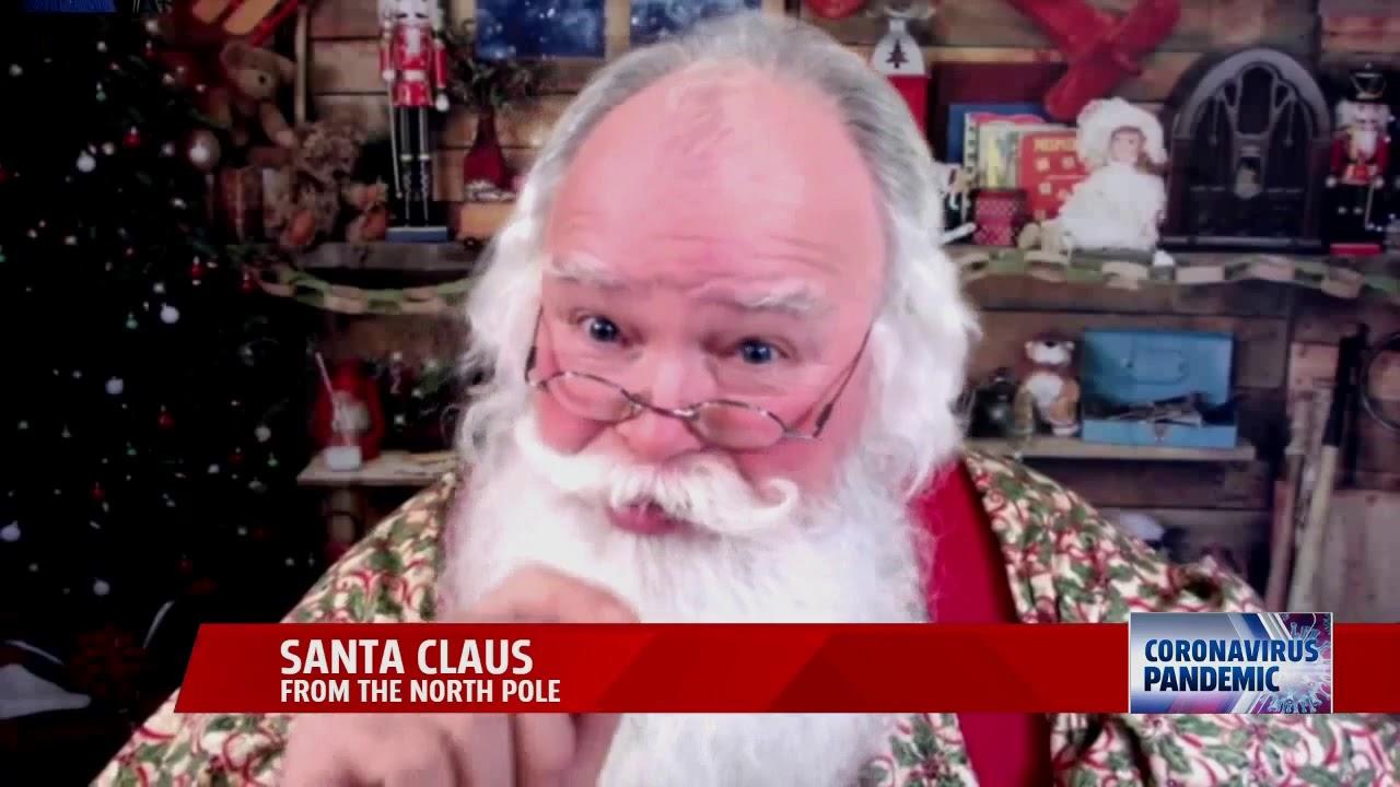 Santa Sends Message To Kids On Coronavirus Youtube