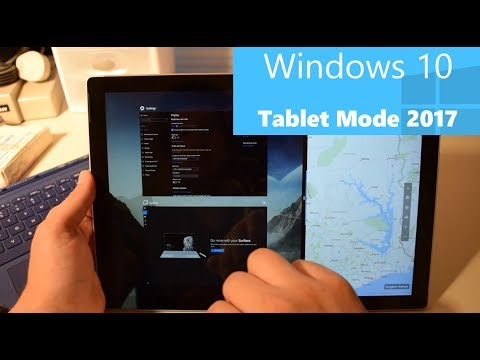 windows 10 tablet mode in 2017 finally perfect youtube. Black Bedroom Furniture Sets. Home Design Ideas