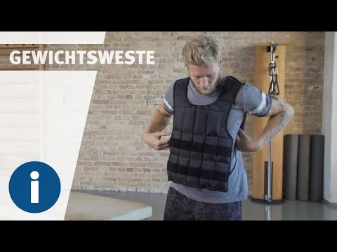 "Video: Sport-Thieme ""Premium"" Weight Vest, 10 kg"
