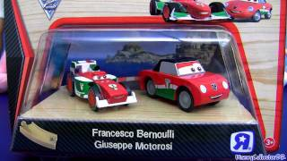 Cars 2 Wood Francesco Bernoulli Wooden Giuseppe Motorosi Toysrus Disney Pixar Car-toys