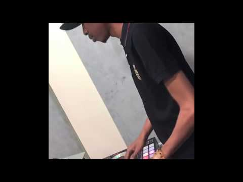 dj consequence scratching at soundcity fm