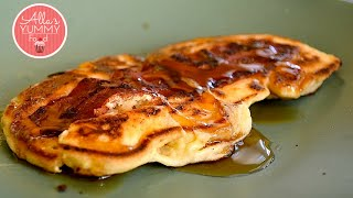 Bacon Maple Pancakes Recipe -  Оладьи с беконом и сиропом