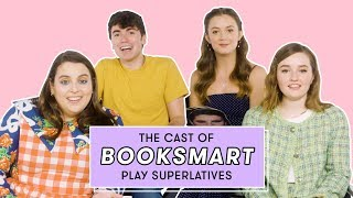 The Booksmart Cast Reveals Who's Most Likely to Have a Bathroom Hookup and More   Superlatives