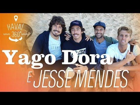 Yago Dora e Jesse Mendes no Havaí | Havaí 360º | Canal OFF
