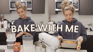 BAKE WITH ME! Self Isolation Vlog!