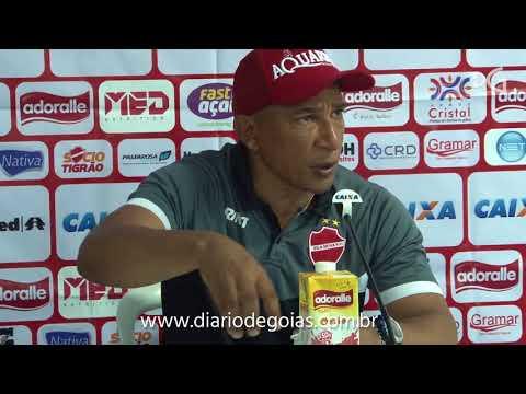 Hemerson Maria diz que Vila Nova é o time a ser batido em Goias.