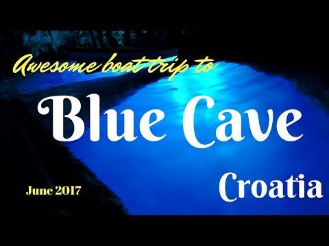 Blue Cave | Bisevo Island | Split | Croatia (HD)