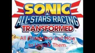 """Video All """"Sonic & All Stars Racing Transformed"""" Characters and How To Unlock Them download MP3, 3GP, MP4, WEBM, AVI, FLV Oktober 2018"""