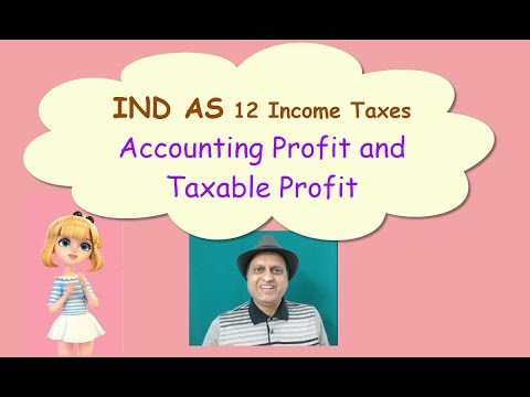IND AS 12 Income Taxes. IAS 12 Accounting Profit, Taxable Profit. CA CS CMA Video Coaching Classes