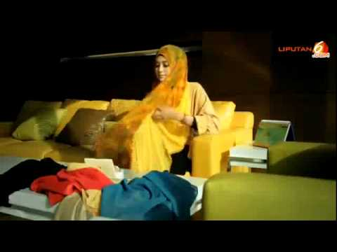 Tutorial Hijab Pashmina Sifon Natasha Farani Terbaru - YouTube