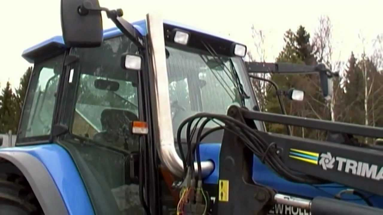 New Holland Tm 150 Straight Pipe Turbo Whistle Sound