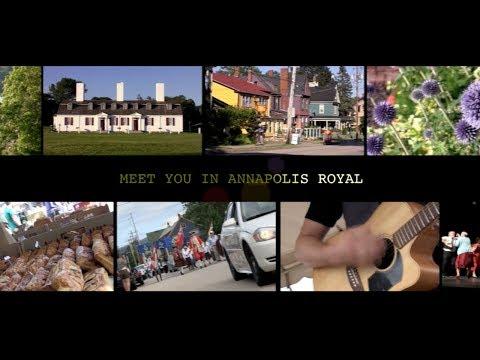 Visit Annapolis Royal, Nova Scotia