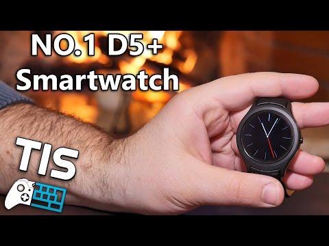 NO.1 D5+ Smartwatch - Unboxing & Review (Greek) - Gearbest