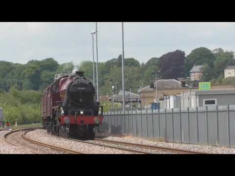 The Scarborough Spa Express at Malton  (01/06/17)