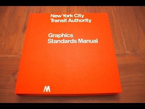 New York City Transit Authority Graphics Standards Manual - Quick Look / Review