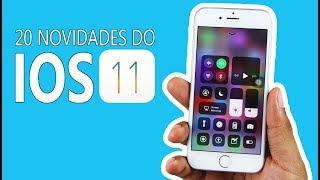 20 Novidades muito legais do IOS 11 Beta no iPhone 6