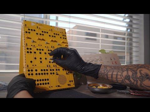 Teenage Engineering 400 Modular Build + Jam // Pocket Operator Modular Mp3