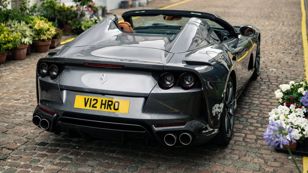 2021 Ferrari 812 GTS Review: The Sound Of Speed   4K