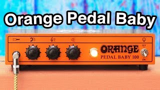Orange Pedal Baby - The Best PEDAL Platform?