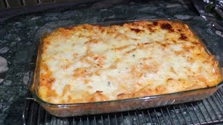 Two Layer Baked Ziti