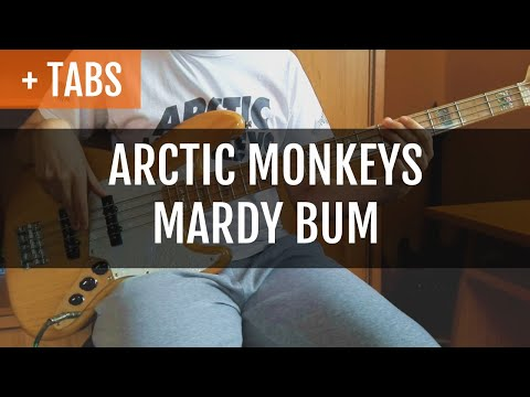 Arctic Monkeys - Mardy Bum Bass Cover with BASS!