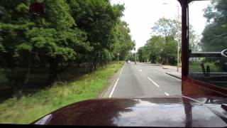 Very musical Leyland-engined AEC Routemaster RM1966 (ALD 966B) - ride, part 2