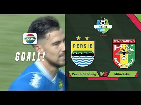 Goal Jonatan Bauman - Persib Bandung (1) vs Mitra Kukar (0) | Go-Jek Liga 1 bersama Bukalapak