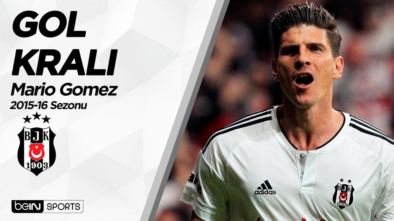 Süper Lig'in Gol Kralları | 2015-16 | Mario Gomez