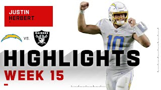 Justin Herbert Ties Rookie Passing TD Record in OT Win! | NFL 2020 Highlights
