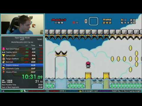 Super Panga World Speedrun 24:10 *World Record*