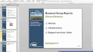 ANSI Electric Vehicles Workshop - Day Two thumbnail