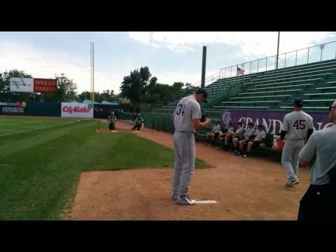 Colorado Rockies: Riley Pint bullpen session 2