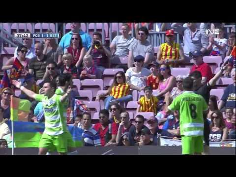 Barcelona - Getafe Highlights HD 03.05.2014