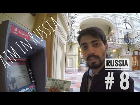 HOW I GOT RUSSIAN CURRENCY (ROUBLE) | INDIAN SBI CARD |Hostel in Moscow for 400₹| Best Shopping Mall