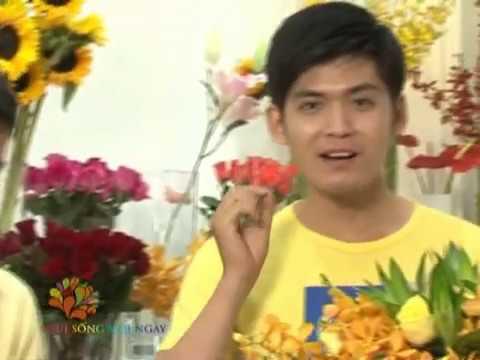 Đàn ông cắm hoa - Vui Sống Mỗi Ngày [VTV3 - 14.12.2012]