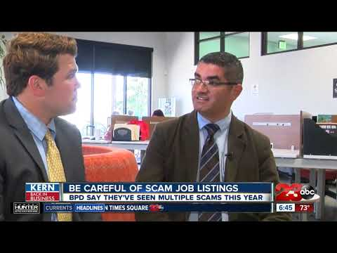 Kern Back In Business: Be aware of scam job postings