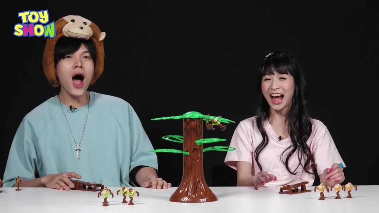 《Toy Show#19 》吱吱吱~頑皮小猴子彈跳玩具