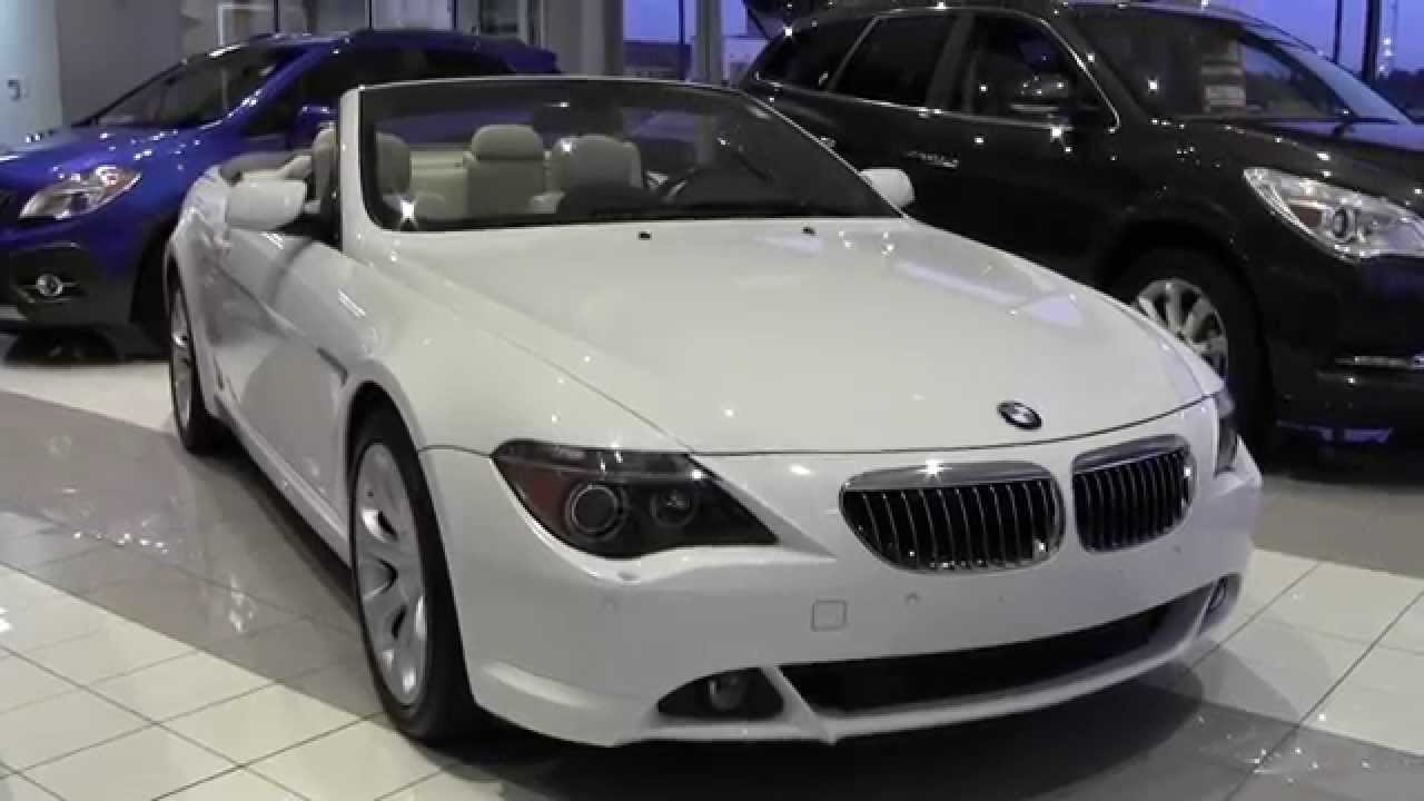 2006 bmw 6 series 650i convertible 2u140090c youtube. Black Bedroom Furniture Sets. Home Design Ideas