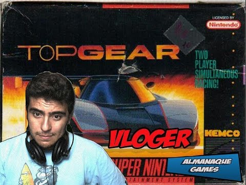 ALMANAQUE DOS GAMES : RELEMBRANDO TOP GEAR