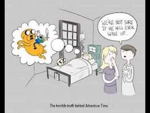 Cartoon Conspiracy Theories Ep1 Adventure Time Coma