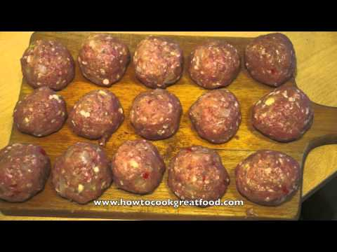 Asian Minced Pork Balls with 5 spice recipe How to cook great food five
