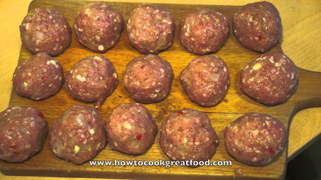 Asian Minced Pork Balls With 5 Spice Recipe How To Cook Great Food
