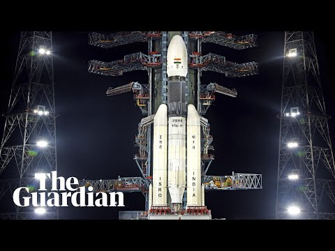 India's Chandrayaan-2 moon mission lifts off a week after aborted launch