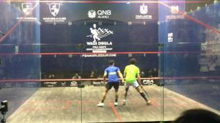 Wadi Degla Squash World Championship 2016 - QF - Ramy Ashour v Fares Dessouky - 1st Game
