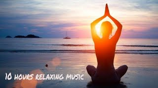 10 hours relaxing music - calm piano music 24/7: study music, focus, think, meditation